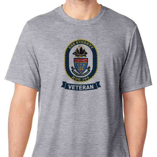 uss sterett veteran tshirt