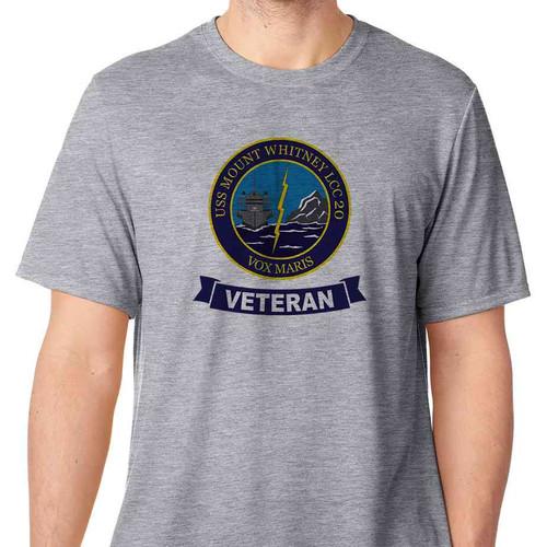 uss mount whitney veteran tshirt