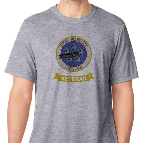 uss nimitz veteran tshirt