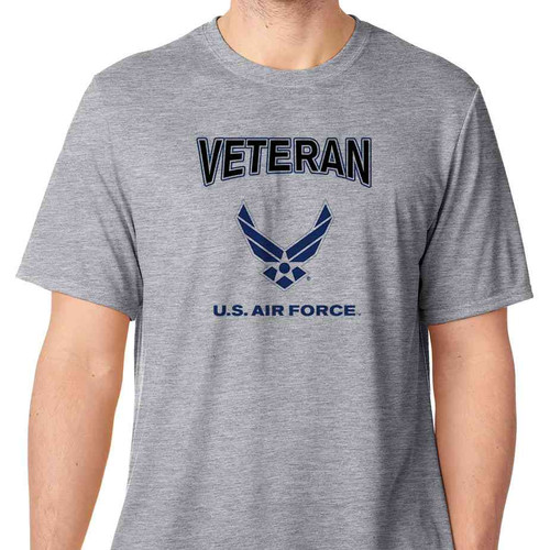 Officially Licensed U.S. Air Force Veteran Wings T-Shirt Hap Arnold