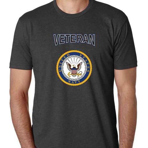 officially licensed u s navy gold emblem veteran special edition tshirt