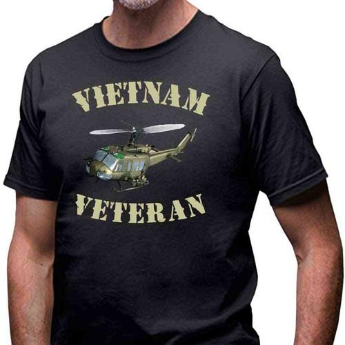 vietnam veteran huey special edition tshirt
