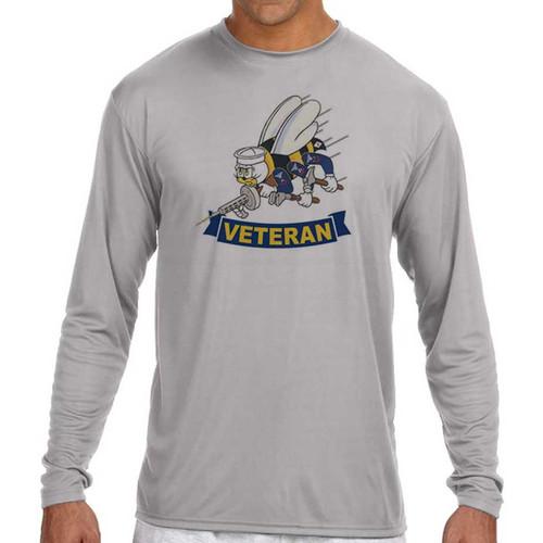 navy seabees veteran performance long sleeve shirt