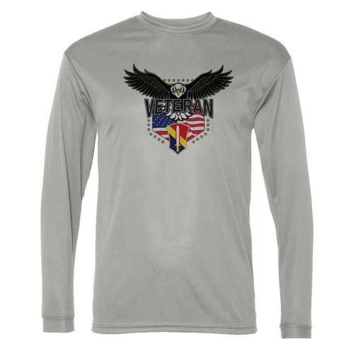 1st field force w eagle gray long sleeve shirt