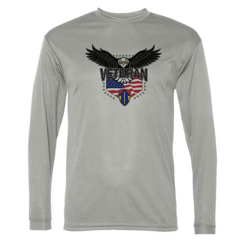 2nd field force w eagle gray long sleeve shirt