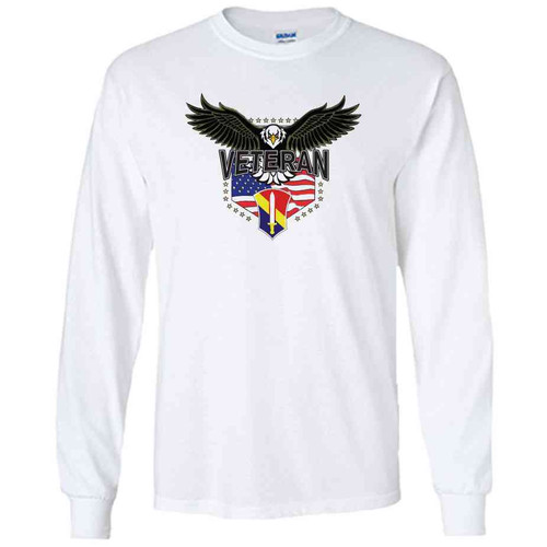 1st field force w eagle white long sleeve shirt