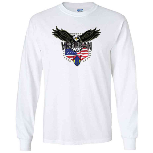 2nd field force w eagle white long sleeve shirt