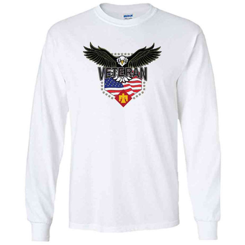 45th infantry brigade w eagle white long sleeve shirt