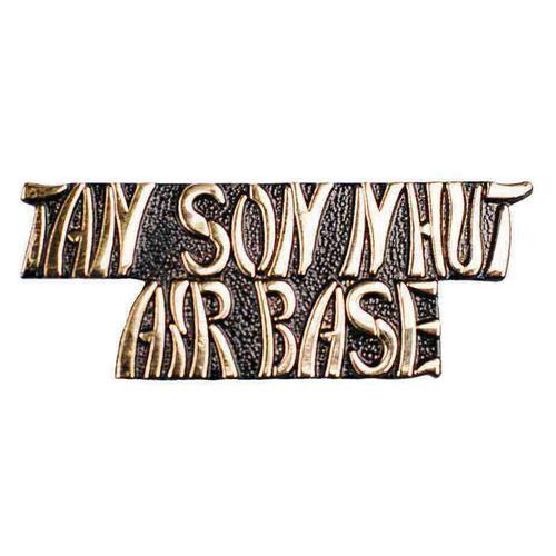 tan son nhut airbase hat lapel pin
