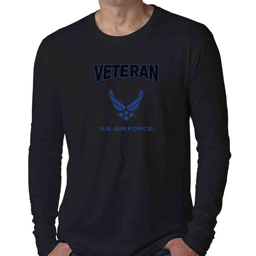 u s air force veteran performance long sleeve shirt
