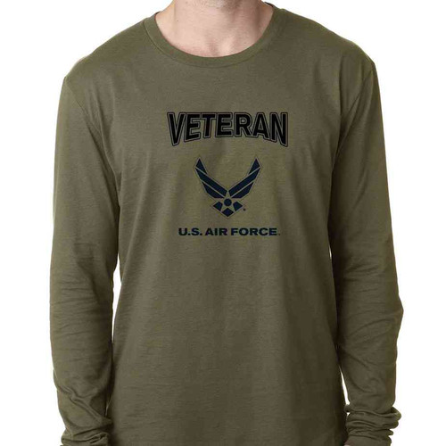 officially licensed u s air force performance long sleeve shirt