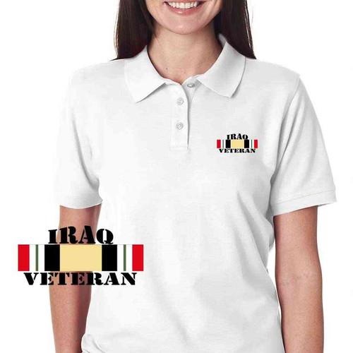 iraq veteran campaign ribbon ladies performance ecopolo