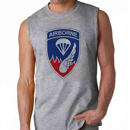 army 187th infantry airborne sleeveless shirt