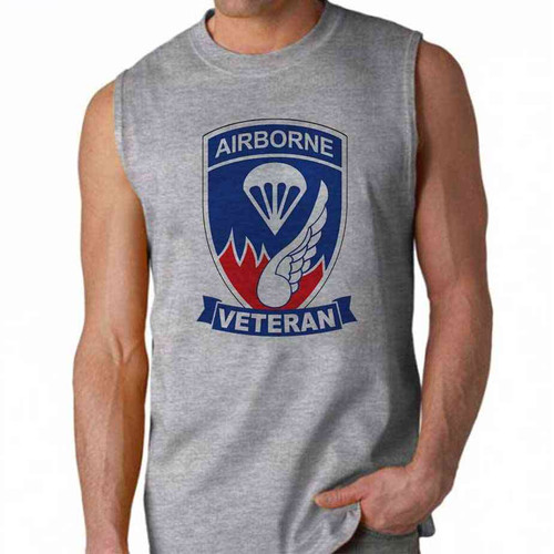 army 187th infantry regiment veteran sleeveless shirt