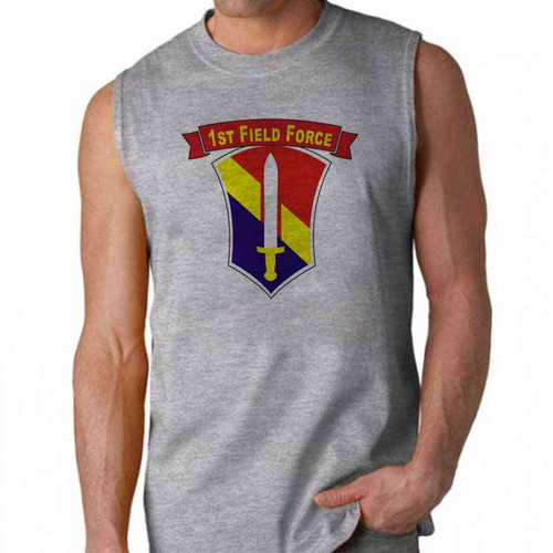 army 1st field force sleeveless shirt