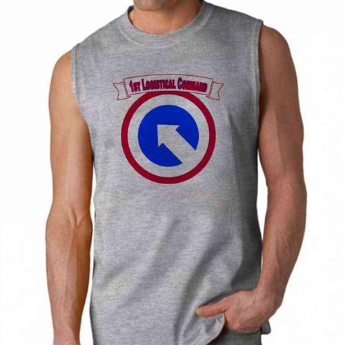 army 1st logistical command sleeveless shirt