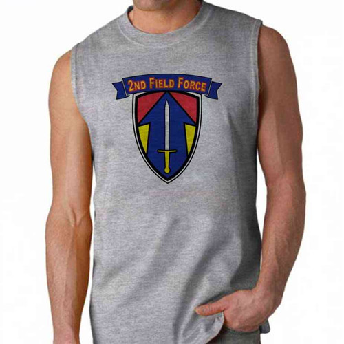 army 2nd field force sleeveless shirt