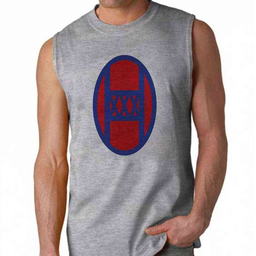 army 30th infantry division sleeveless shirt