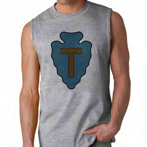 army 36th infantry division sleeveless shirt