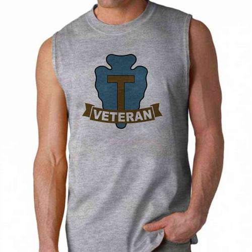 army 36th infantry division veteran sleeveless shirt