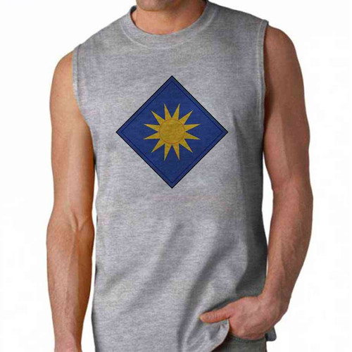 army 40th infantry division sleeveless shirt