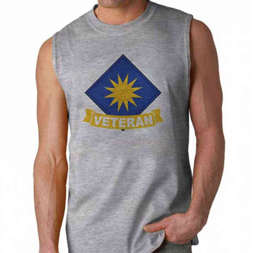 army 40th infantry division veteran sleeveless shirt