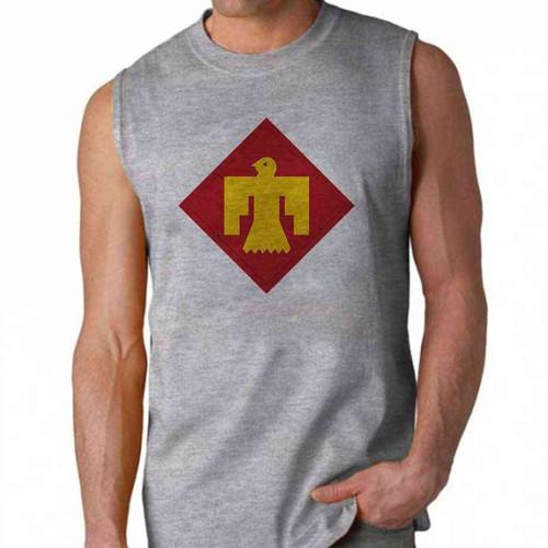 army 45th infantry brigade sleeveless shirt
