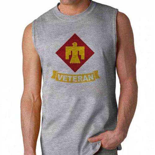army 45th infantry brigade veteran sleeveless shirt