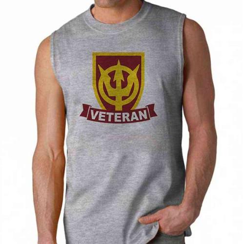 army 4th transportation command veteran sleeveless shirt