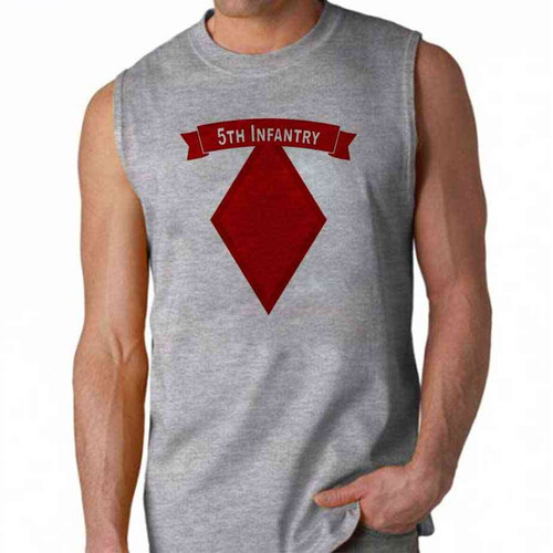 army 5th infantry division sleeveless shirt