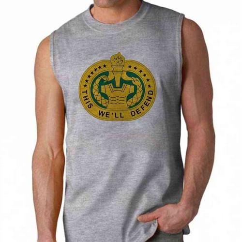 army drill sergeant insignia sleeveless shirt