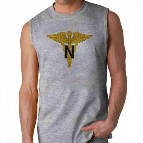 army nurse corps sleeveless shirt