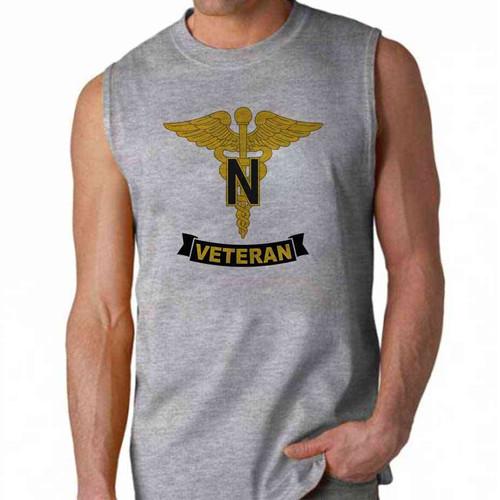 army nurse corps veteran sleeveless shirt