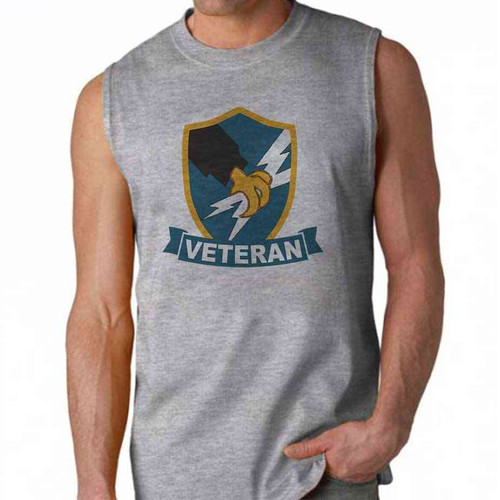 army security agency veteran sleeveless shirt