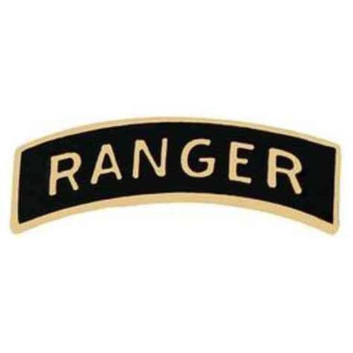 army ranger hat lapel pin