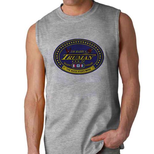 uss harry s truman sleeveless shirt