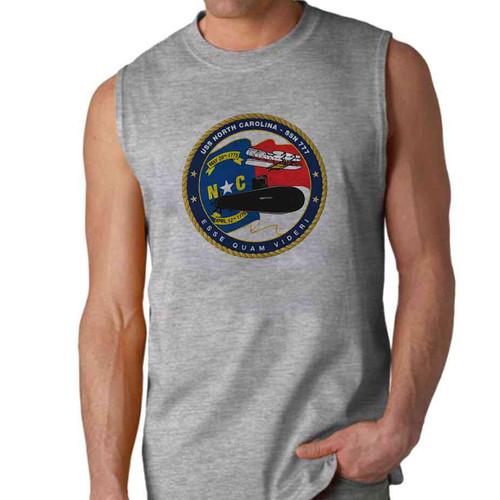 uss north carolina sleeveless shirt