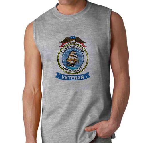 uss constitution veteran sleeveless shirt