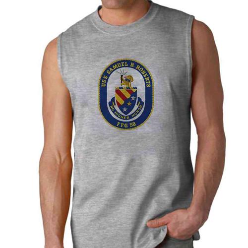 uss samuel b roberts sleeveless shirt