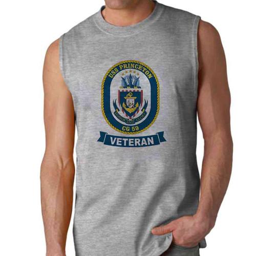 uss princeton veteran sleeveless shirt
