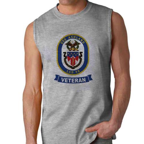uss ashland veteran sleeveless shirt