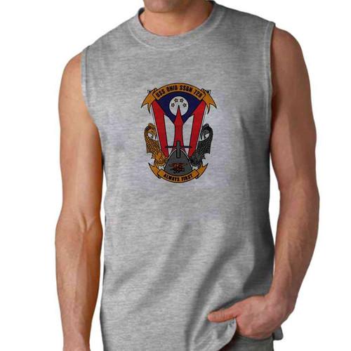 uss ohio sleeveless shirt