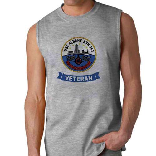 uss albany veteran sleeveless shirt