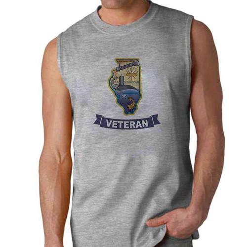 uss illinois veteran sleeveless shirt