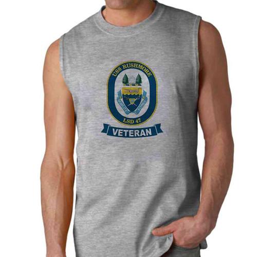 uss rushmore veteran sleeveless shirt