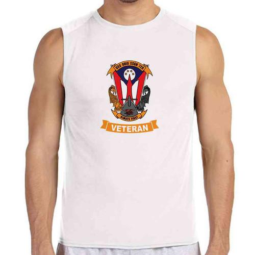 uss ohio veteran white sleeveless shirt