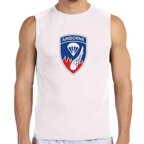 187th infantry white sleeveless shirt