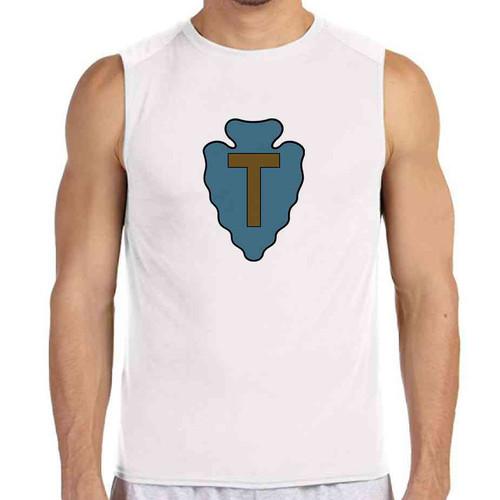 36th infantry division white sleeveless shirt
