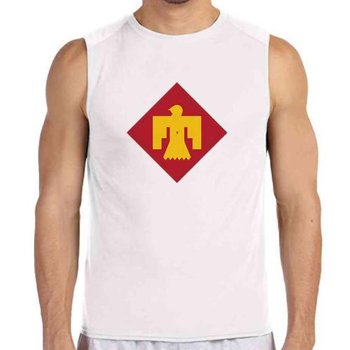 45th infantry brigade white sleeveless shirt