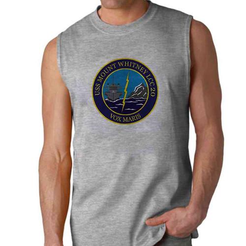 uss mount whitney sleeveless shirt
